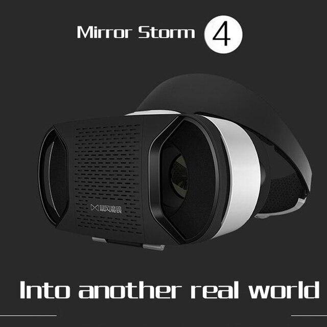 2016 Новый VR Shinecon Зеркало Буря Смартфон 4-го Поколения Плюс Очки Виртуальной Реальности VR3D Игры Буря Руля Для ios и android