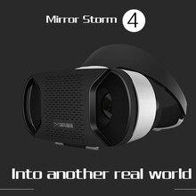 2016ใหม่VR Shineconกระจกพายุมาร์ทโฟนรุ่นที่บวกแว่นตาเสมือนจริงVR3DเกมพายุHelmสำหรับiosและandroid