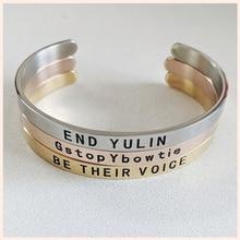 SG Personalized 925 sterling silver open bracelet for women Engraved Custom Name Bracelet Jewelry Letters Bracelet&Bangle