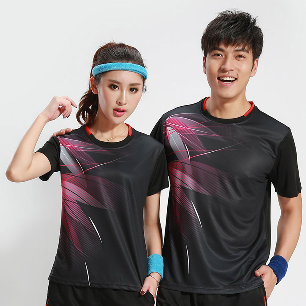 Free Printing Badminton shirts , Tennis shirt Male/Female , Quick dry Table Tennis shirt , Tennis sports training shirts 3070AB ...
