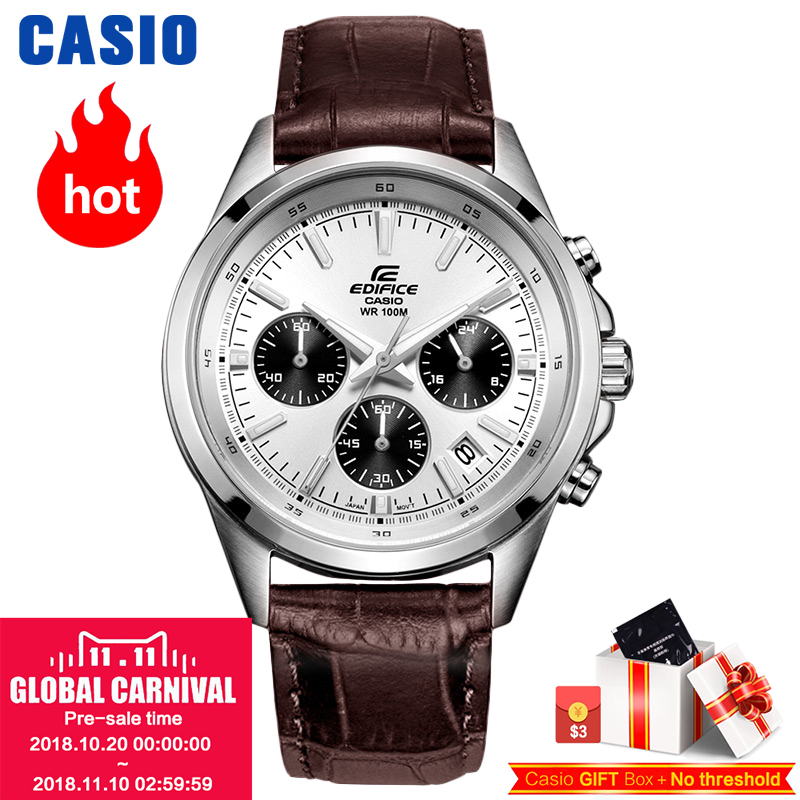Casio watch Men's watch business casual waterproof quartz male watch EFR-527D-2A EFR-527D-7A EFR-527L-1A EFR-527L-7A EFR-548D-7A casio efr 556db 2a