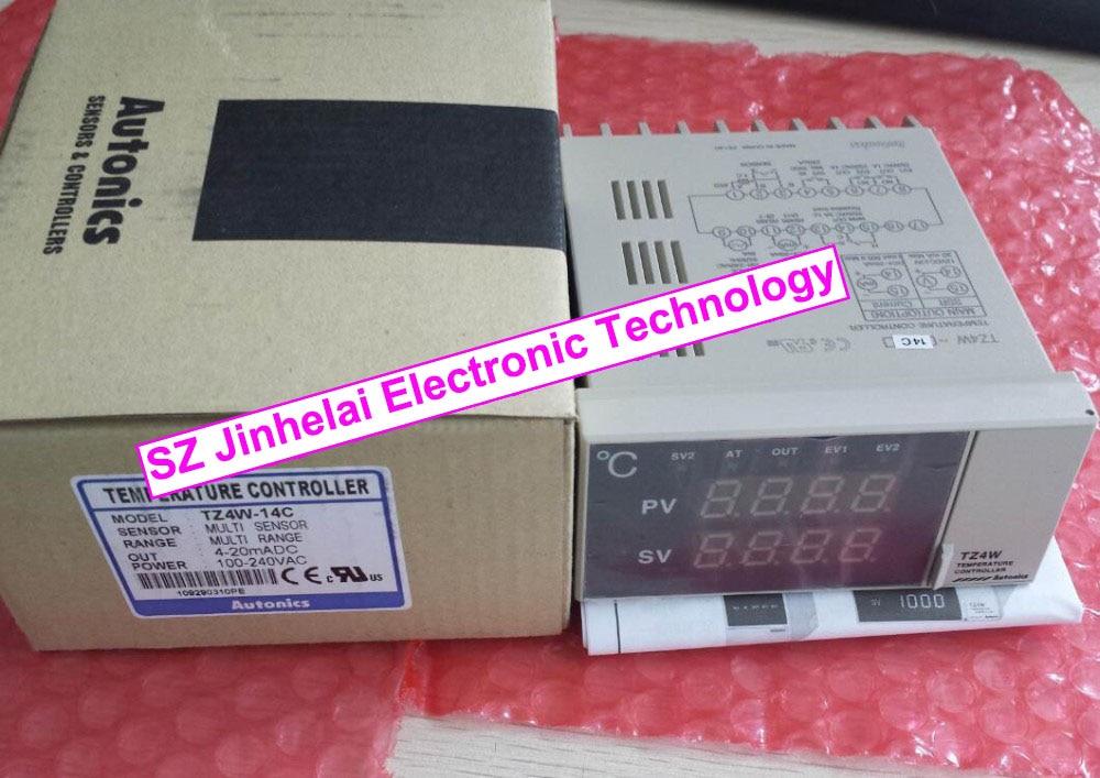 New and original  TZ4W-14C  AUTONICS  100-240VAC  Temperature controller ga 14 original and new