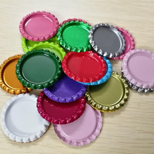 BIHAIYUAN аксессуары мм 25 мм внутри цветные Приплюснутые бутылки шапки плоские бутылки-колпачки для DIY ремесла банты на голову ожерелье ювелирные изделия