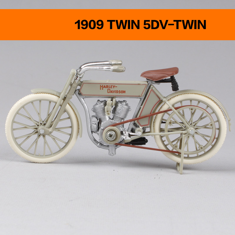 HD Motorcycle Models 1909 TWIN 5DV-TWIN 1936 EL KNUCKLEHEAD 1:18 scale Alloy Heavy motorcycle model Collection Gifts