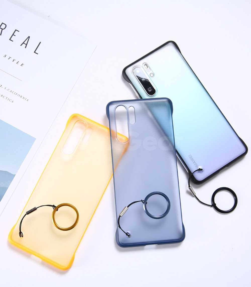 For Huawei P20 P30 Pro Lite Case Bumper Clear Hybrid Crystal Cover For Honor Mate 10 20 Pro Nova 3 3i 4 5 5i Frame Ring Coque