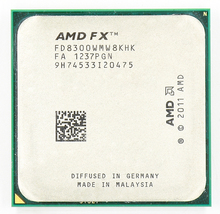 AMD FX 8300 AM3 + 3.3 GHz/8 MB/95 W sekiz çekirdekli CPU İşlemci