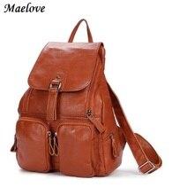Maelove Новое Прибытие Женщины сумку Из Натуральной Кожи сумка Рюкзак Натуральной кожи сумка Студент Школы сумка рюкзак