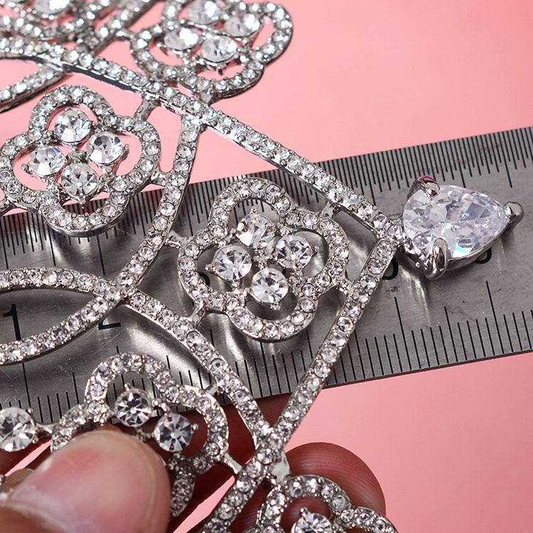 Hot European Designs king queen crown cubic zirconia tiara head