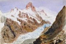 landscape watercolor prints masterpiece copies canvas painting giant posters John Singer Sargent mountains and glacier hirshler great expectations john singer sargent painting children