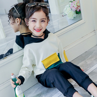Children Clothing Set 2020 Spring New Girls Clothes 2pcs Outfits Kids Tracksuit Suit For Girls Clothing Sets Sweatshirts + Pants