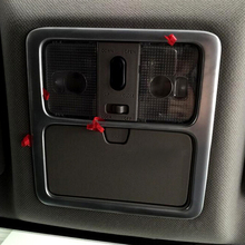 Fit 2008-2012 2013 Для Nissan X-trail T31 Внутренняя Отделка Отделка Передняя Чтение Свет Лампы Рамка отделка Матовая ABS Автомобиль Для Укладки