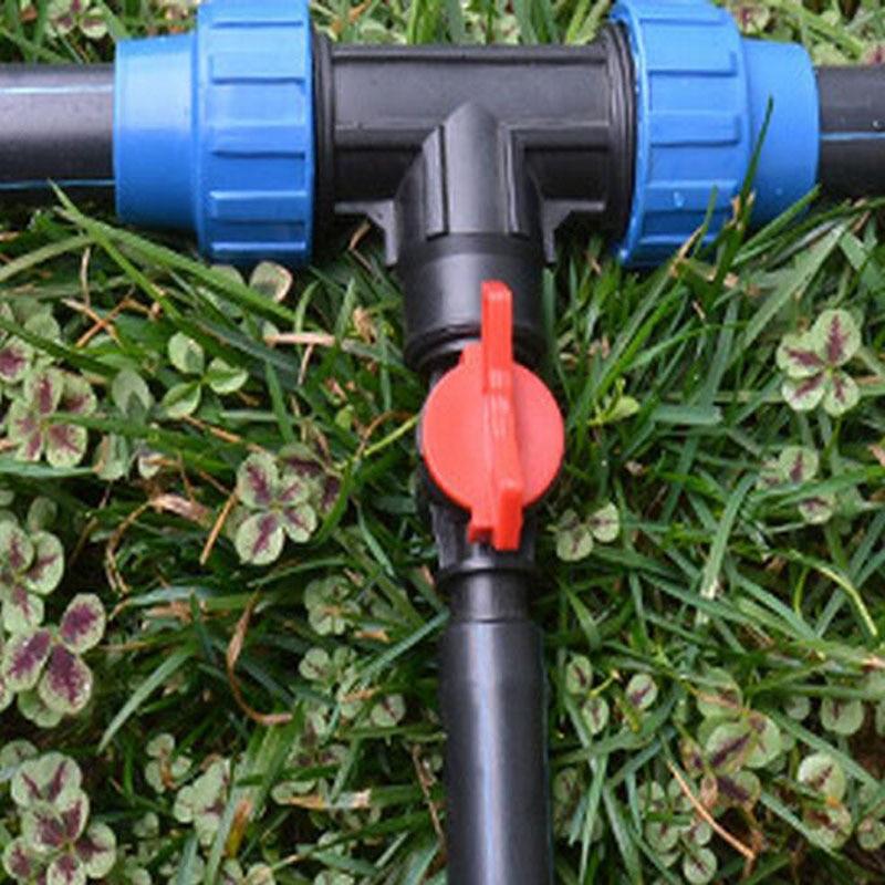 Hot 5pcs Plastic 16mm Diameter Irrigation Water Hose Valve