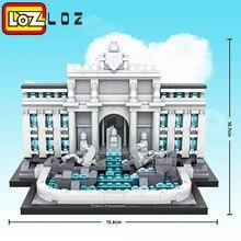 LOZ Центральные Учреждения Организации Объединенных Наций Миниблок Всемирно Известный Серии Архитектура Строительные Блоки игрушки Классические Викторины Игрушки Для детей