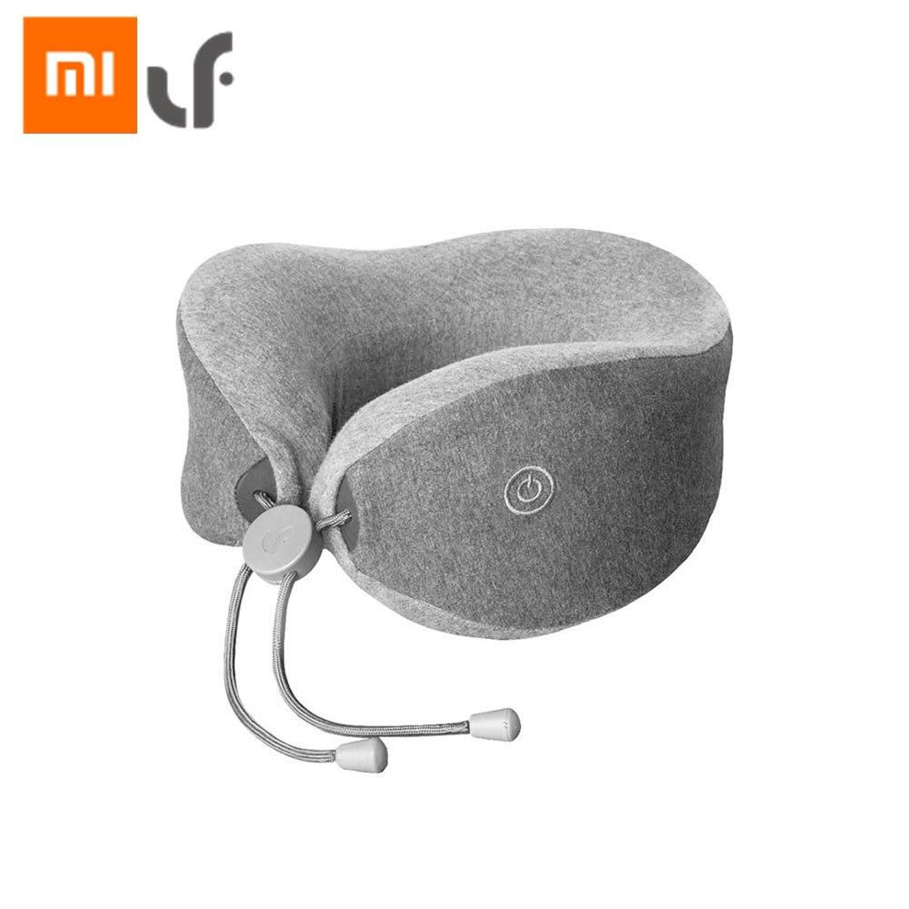 Original Xiaomi LF U-Shape Neck Massage Pillow Relax Muscle Massager Release Pressure Help Sleep Pillow Work Home Car Travel Use все цены