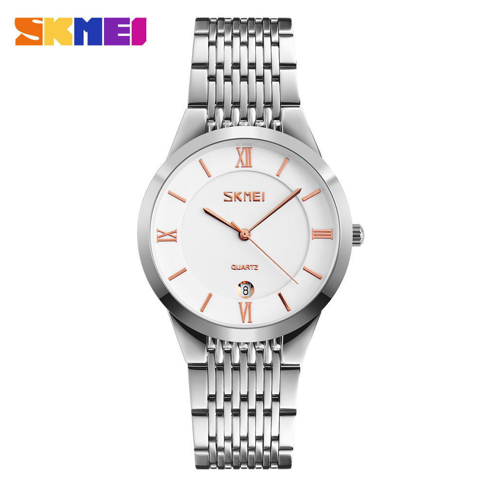 SKMEI Brand Lovers Quartz Wrist Watch Men Women Couples Watches Female Clock Man Quartz-watch Montre Femme Relogio Feminino