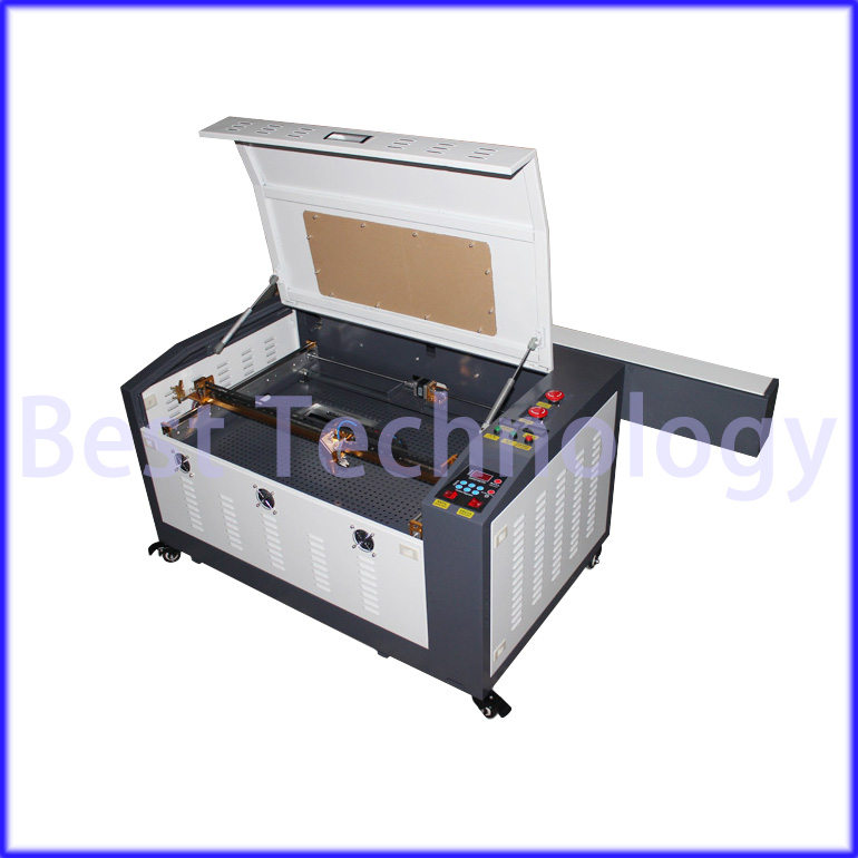 New 110/ 220V 60W 400*600mm CNC <font><b>Laser</b></font> <font><b>Engraver</b></font> 6040 Cutting <font><b>Machine</b></font> <font><b>4060</b></font> USB port used for Wood,Acrylic, Crytal, Glass, Leather image