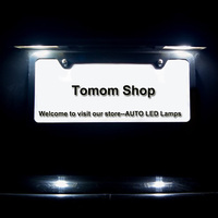 For GMC Terrian 2010 2013 Cadillac XTS CTS SRX ELR LED Rear License Plate Lamp Free