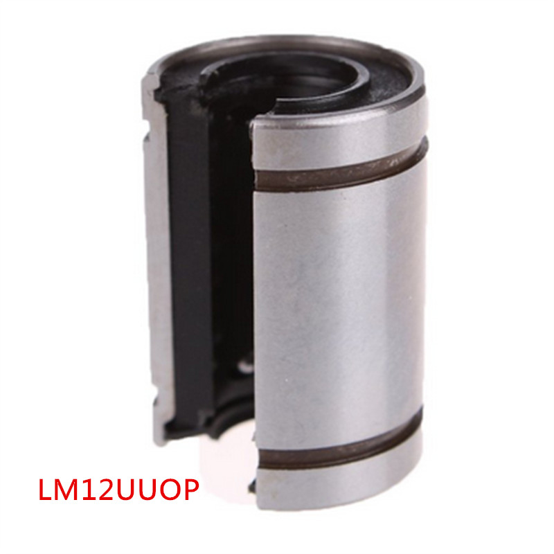 Open linear bushing linear bearing bush bearing 3D printer 1PCS of 12mm LM12UUOP