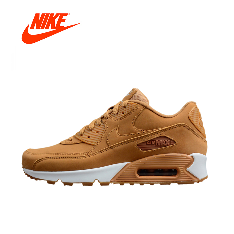 Nike AIR MAX 90 Original New Arrival Authentic Men s Light Running Shoes Sneakers Outdoor Walking