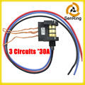 Carbon bursh slip ring 380VDC/AC voltage 250RPM Compact Wind Turbine Slip Ring