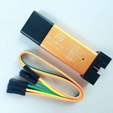Горячая 1 шт. ST LINK Stlink ST-Link V2 Mini STM8 STM32 симулятор скачать программист Программирование с крышкой