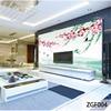QINGCHUN Custom Print Fabric Textile Wallcoverings For Walls Cloth Seamless Matt Silk For Living Room Backdrop
