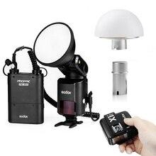 Godox AD360II 360W E-TTL Flash For Canon + Soft Diffuser + Battery + X1C Trigger