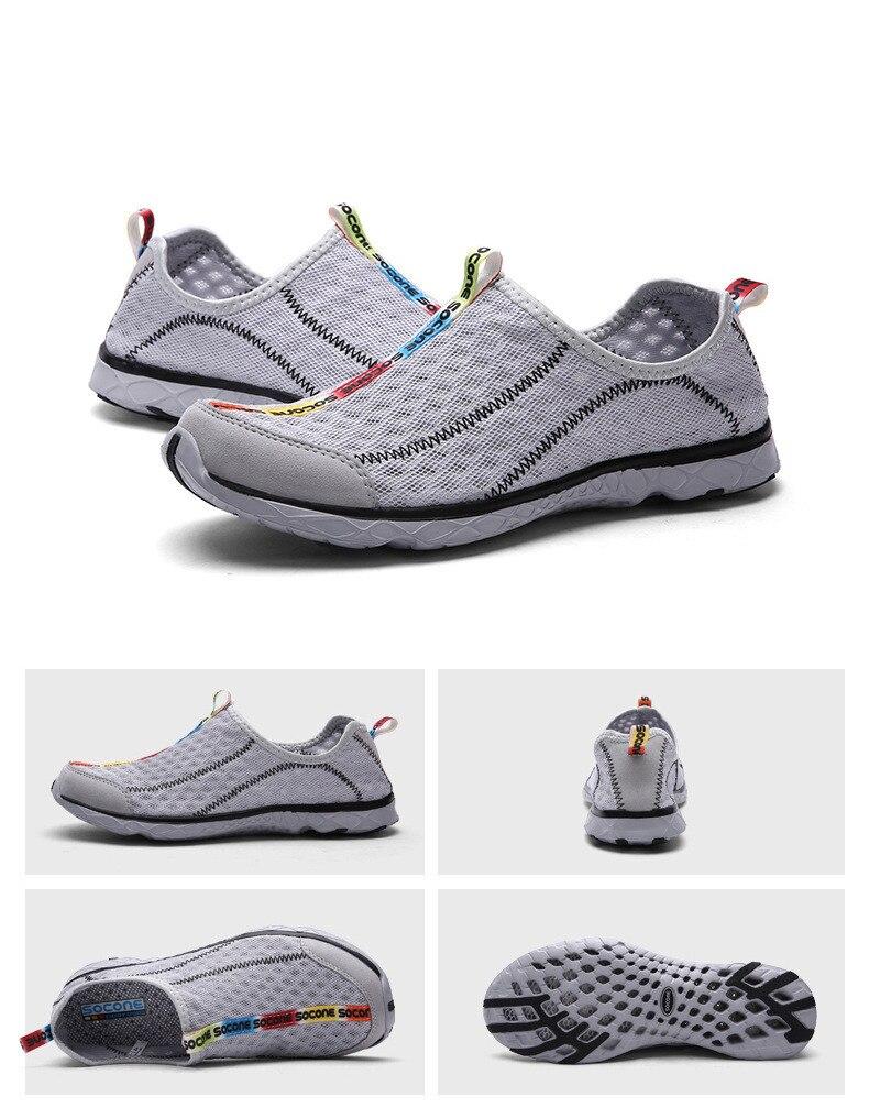 homens do aqua sapatos de água para