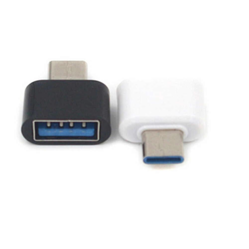Jrgk Telefoon Adapters Micro Usb 2.0 Female Naar Type C Male Converter USB-C Otg Adapter Omzetten Usb 3 Poort standaard Usb-poort