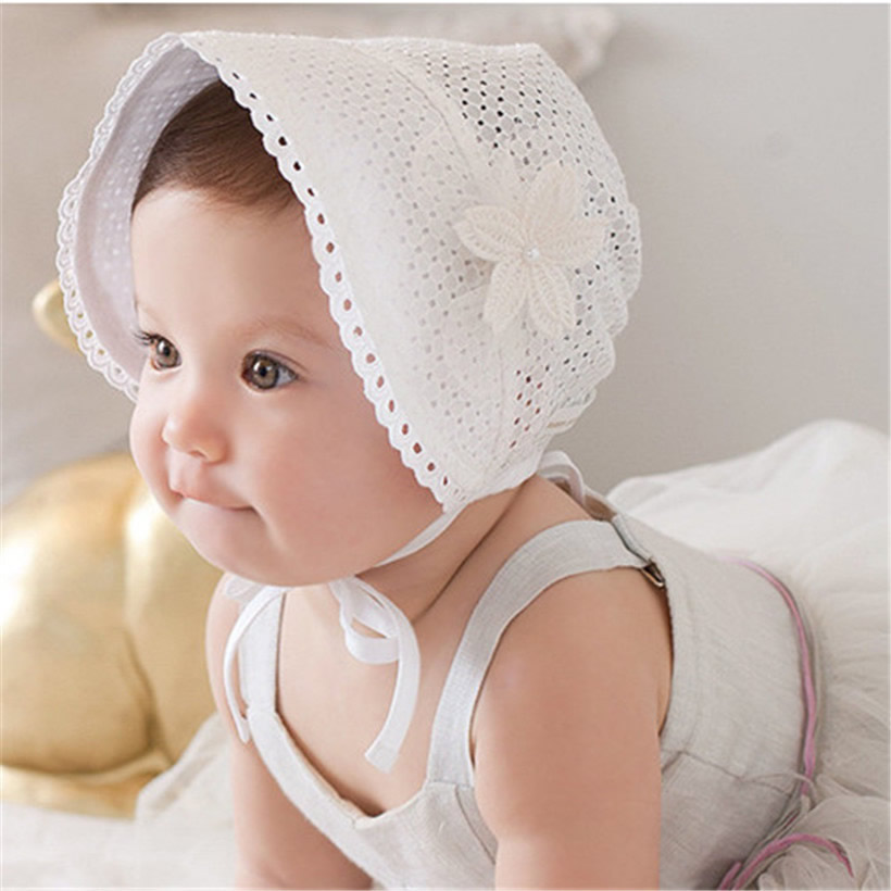 f8a1c2802ef Girls Infant Baby Newborn Kids Bucket Hat Children Cap Beanie Bonnet Hair  Accessories Bebe Hats Baby-reborn Photography Props