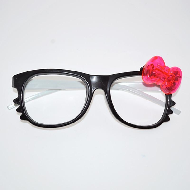 6pcs / lot LED vodio naočale sjaj treperi slatka crtani naočale - Za blagdane i zabave - Foto 5