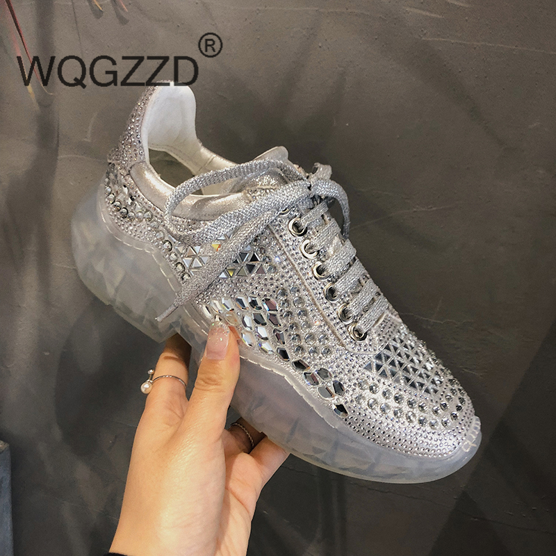 2019 New luxury brand shoes women sneakers air mesh flat platform shoes women s casual shoes