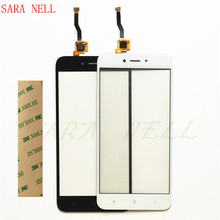 SARA NELL Phone Touch Screen Sensor Panel For Xiaomi Redmi 5A Touchscreen Digitizer Front Glass Lens Replacement+tape все цены