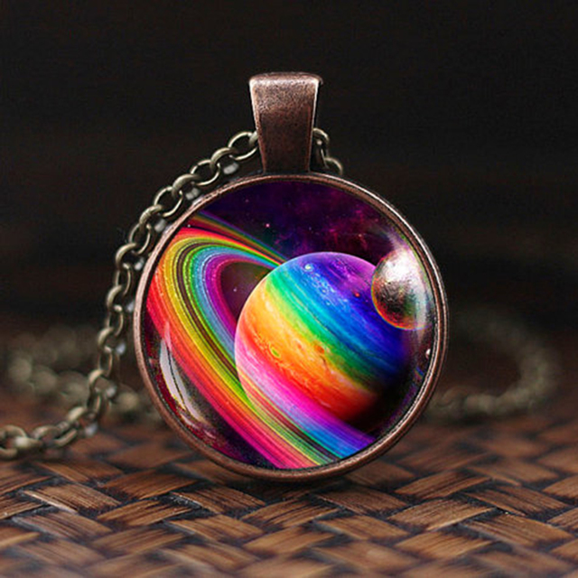 Solar System Pendant Necklace