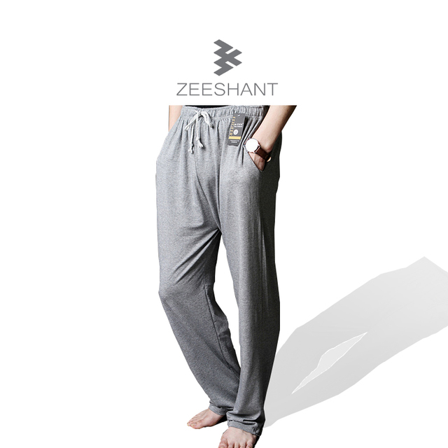 Pajamas Pants Men Sleep Bottoms Men's Casual Trousers Soft Men's Sleep Bottoms Homewear Casual Pants Pajama Loose Lounge
