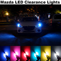 4X Error Free T10 W5W Clearance Light M.A.Z.D.A 2 3 6 323 626 929 CX-5 CX-7 MX5 RX8 Demio Axela ATENZA Accessories LED Car light