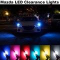 4X M.A.Z.D.A Clearance Luz Livre de Erros T10 W5W 2 3 6 323 626 929 CX-5 CX-7 MX5 RX8 Demio ATENZA Axela Acessórios Do Carro LEVOU luz