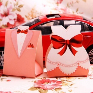 Bridegroom & Bride Candy Box Wedding Favors Gifts Table Decoration Souvenirs wedding gifts guests - Shenzhen Soul Technology CO., LTD store
