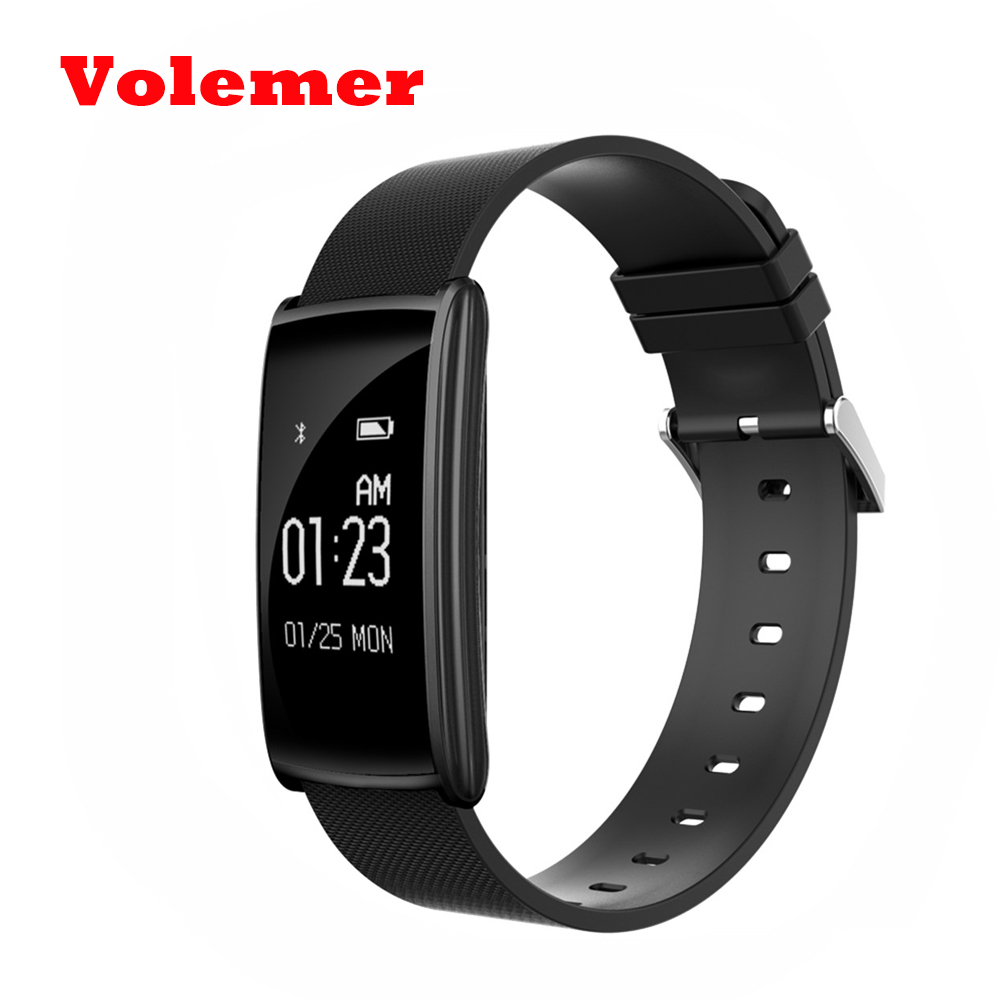 Volemer N108 Smart Wristband 0 96 inch Heart Rate Monito BT 4 0 IP67 Waterproof Message