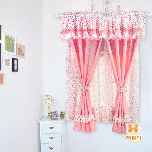Rustikale Gardinen tuch rustikale gardinen prinzessin vorhang kurz vorhang piaochuang