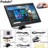 Podofo 10 1 LCD HD Monitor Mini TV Computer Display Color Screen 2 Channel Video Input