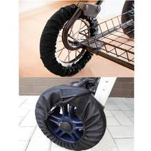 Baby Stroller Wheel Cover Dustproof Protective Stroller Accessories Wheels Covers Wheelchair Baby Carriage Pram Throne Pushchair(China)