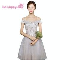 vestidos de novia princess style sleeveless short dress prom dresse new arrival 2019 for a special occasion for girls H3801