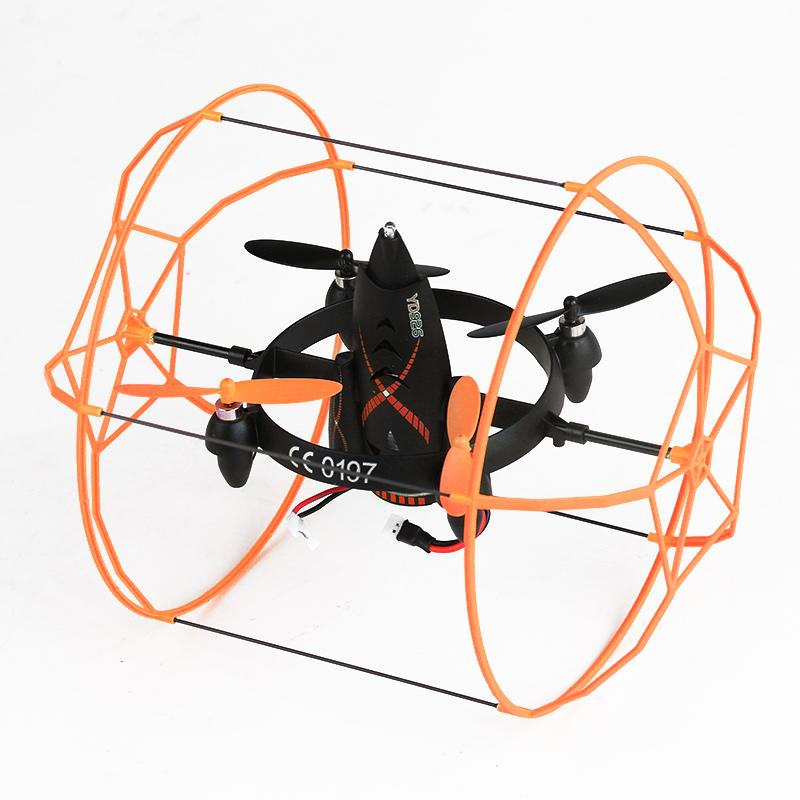 quadcopter 2.4G 4-axis yd926 Remote Control UFO Flying Saucer Aircraft RC Infrared Helicopter Educational Children Toy flying 3d fy x8 018 flying control unit for fy x8 quadcopter