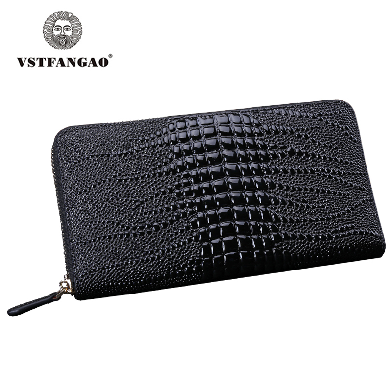 Fashion Business Men Women Zipper Wallets Black Genuine Leather HandBag Clutch Male Coin Bag Purses Long Bifold Wallet For Men contact s mens black soft real genuine leather bifold clutch coin credit cards holder zipper pocket wallets purses with coin bag