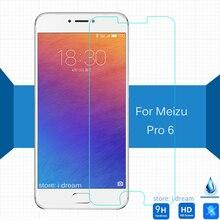 9 9н 2.5D Meizu Pro 6 взрывозащищенные 5.2 дюймов Закаленное Стекло Пленка Для Meizu Pro6 ЖК-Экран Протектор на M570M