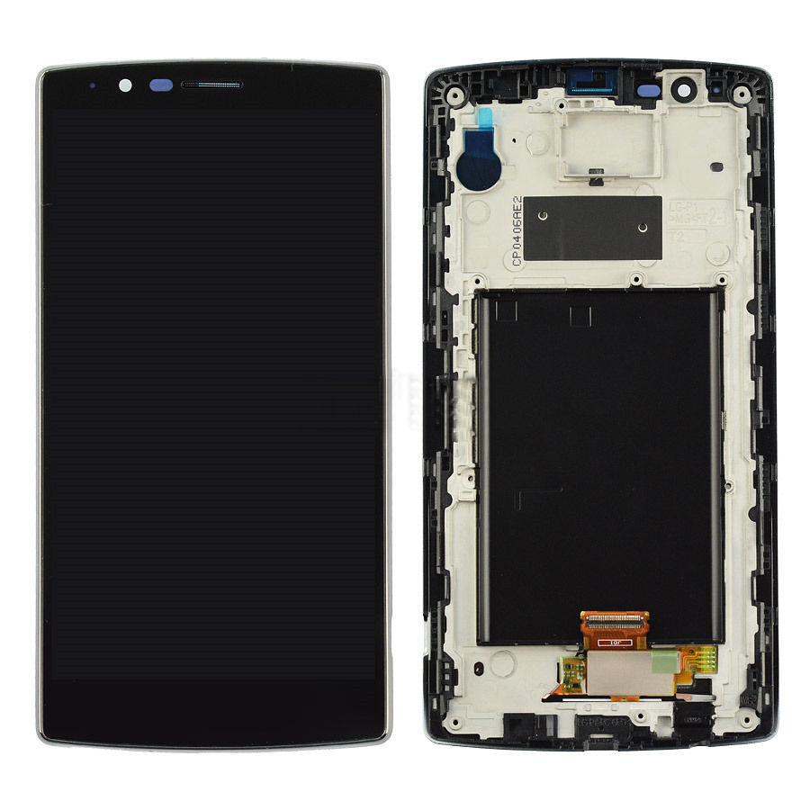 +Frame Black LCD Display + Touch Screen Digitizer Assembly Replacement For LG G4 H815 F500 Free Shipping