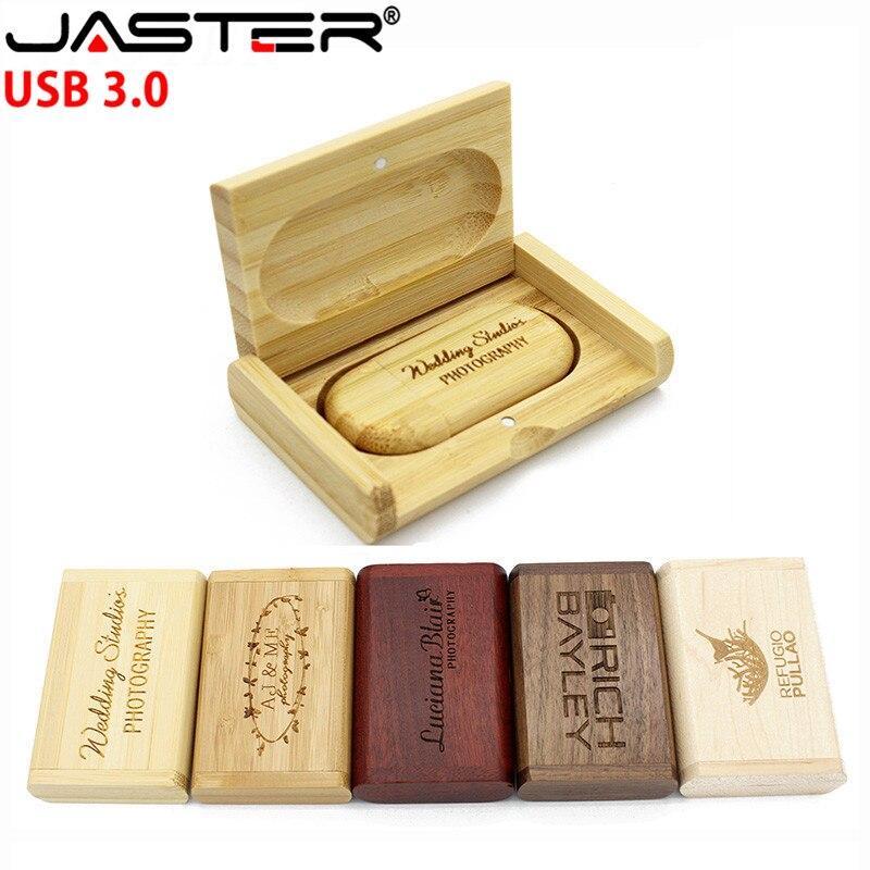 JASTER  USB 3.0 Photography Gift External Storage Thumb Drive 4GB/8GB/16GB/32GB/64GB (over 10PCS Free Logo)+box Free Shipping