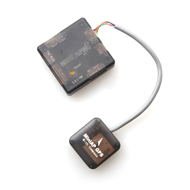 Mini AP GPS Module with Compass Ublox 7 Series for APM2.6 APM2.8 Flight Controller Multicoptor FPV Drone ublox m8n gps compatible with naza lite v1 v2 flight controller