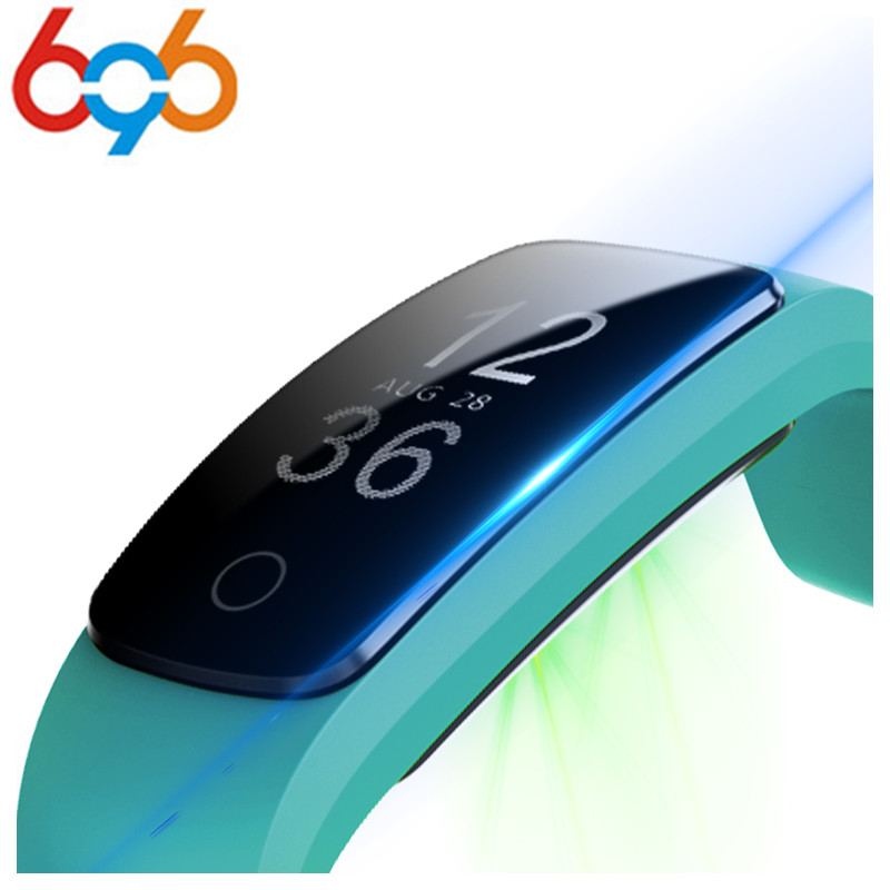 696 Orginal ID107 Plus HR Smart Heart Rate Bracelet Monitor ID107 Plus Wristband Health Fitness Tracking For Android iOS Vs MI B